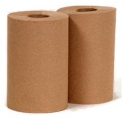 #800 Natural Brown Roll Towels