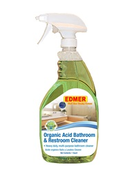 Eco Friendly Organic Acid Bathroom Cleaner