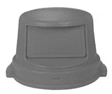 Dome Top Lid for use with Round Receptacle