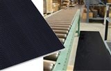 Vinyl corrugated matting
