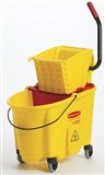 Rubbermaid WaveBrake Bucket/Wringer Set