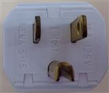 Male 3-prong Heavy Duty Plug